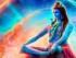 mitt shivabilde i regnbuens farger – Kopi